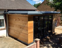 Red cedar rear extension