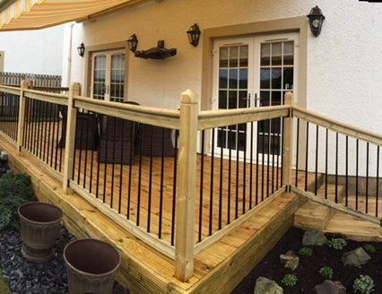 Timber decking 1